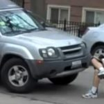 Rude driver blocks church entrance, gets a free sermon about good manners