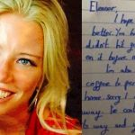 Woman who fell unconscious on train awakes to find mysterious note