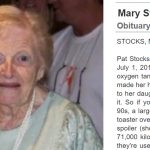 Elderly woman asks family to avoid sad obituary, she must be smiling from heaven at their hilarious solution