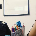 Teen sobs as teacher gives officer her phone, cop looks down and realizes something isn't right