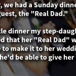 Bride wants deadbeat dad to walk her down the aisle, stepfather's response leaves family in shock