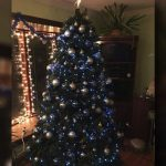 Cops enter wrong house at Christmas, see the tree and realize they were meant to be there