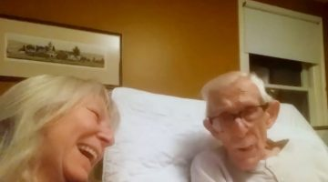 Daughter asks her Dad if he has Alzheimer's and his response will put a smile on your face