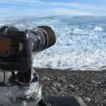 Photographer aims his camera at the ice, seconds later he captures the impossible