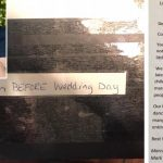 Bride-to-be finds gift from complete stranger on her kitchen table just days before wedding