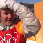 Teen Olympian overslept, lost coat, says F**k on live TV, and won a gold medal all at once