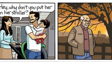 Comic strip depicts what it's like to grow old, and it'll change the way you look at life