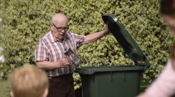 Grumpy man keeps throwing out new household items, neighbor finally realizes it's for a great reason